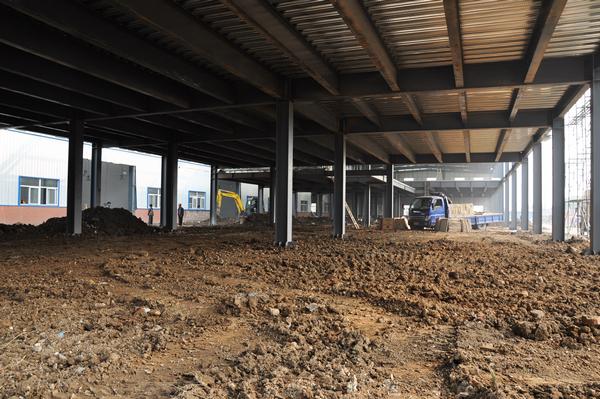 西安店主体结构完工,内装全面开始!
